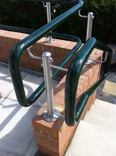 The original 'Warm to touch' handrail
