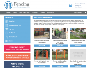 fencing superstore website
