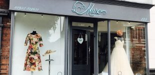 Muse Bridal Shop Signage Newport