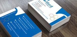Telford Group Business Card Designs